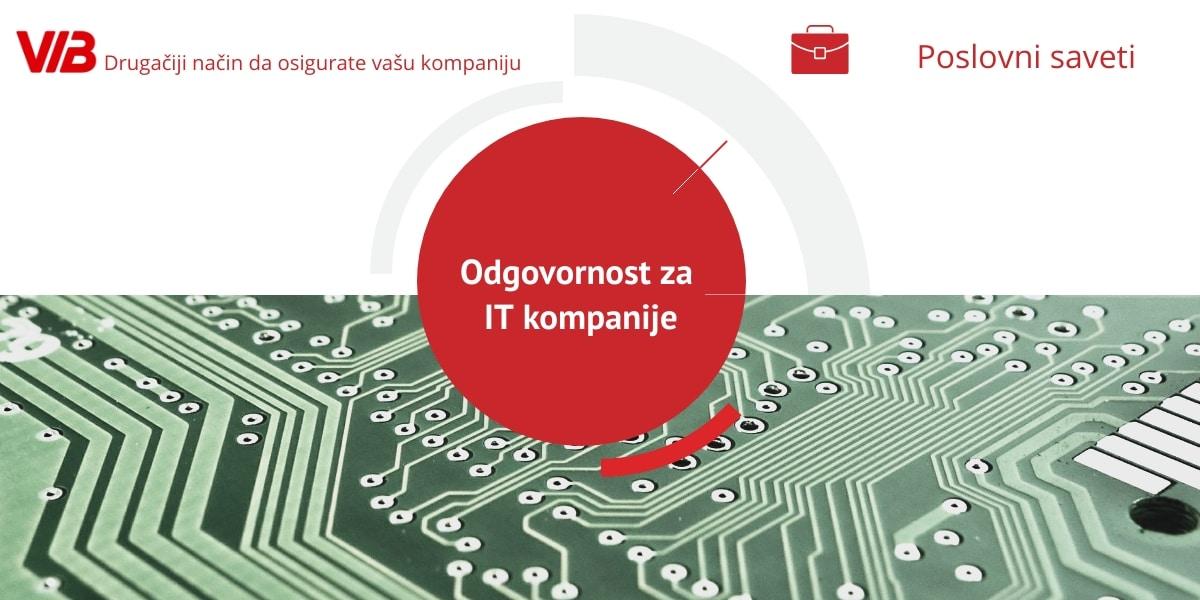 Odgovornost Za IT Kompanije: Zaštita Podataka, Poslovanja I Zaposlenih