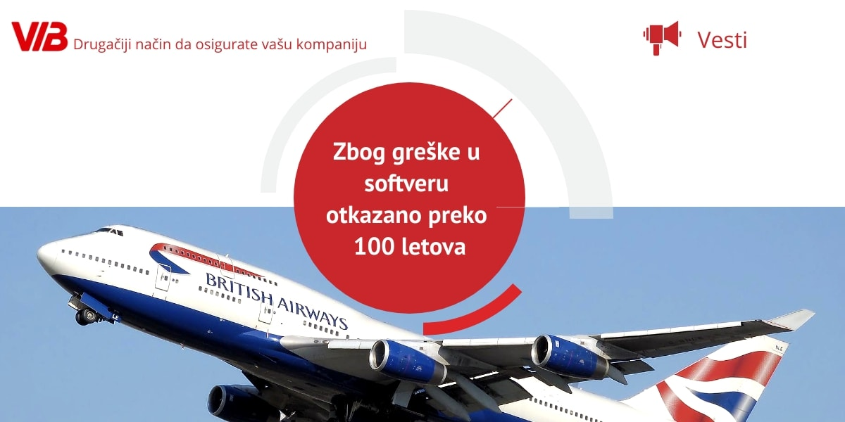 British Airways Zbog Greške U Softveru Otkazano Preko 100 Letova